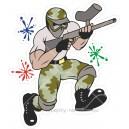 Vojenské nálepky (1)